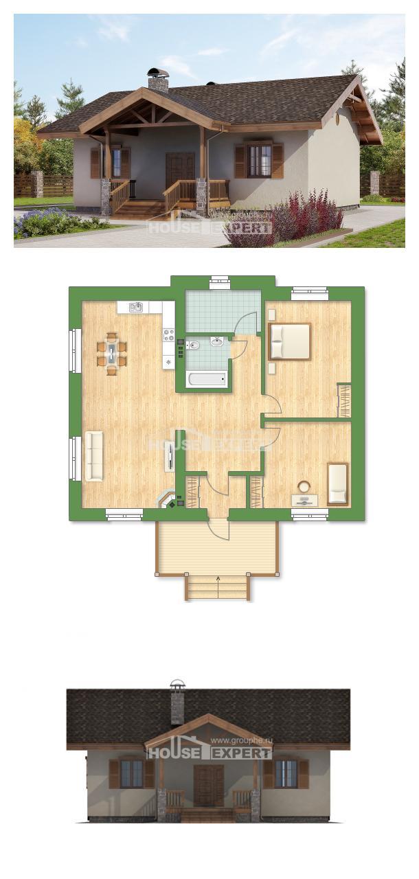 Проект дома 090-002-Л | House Expert