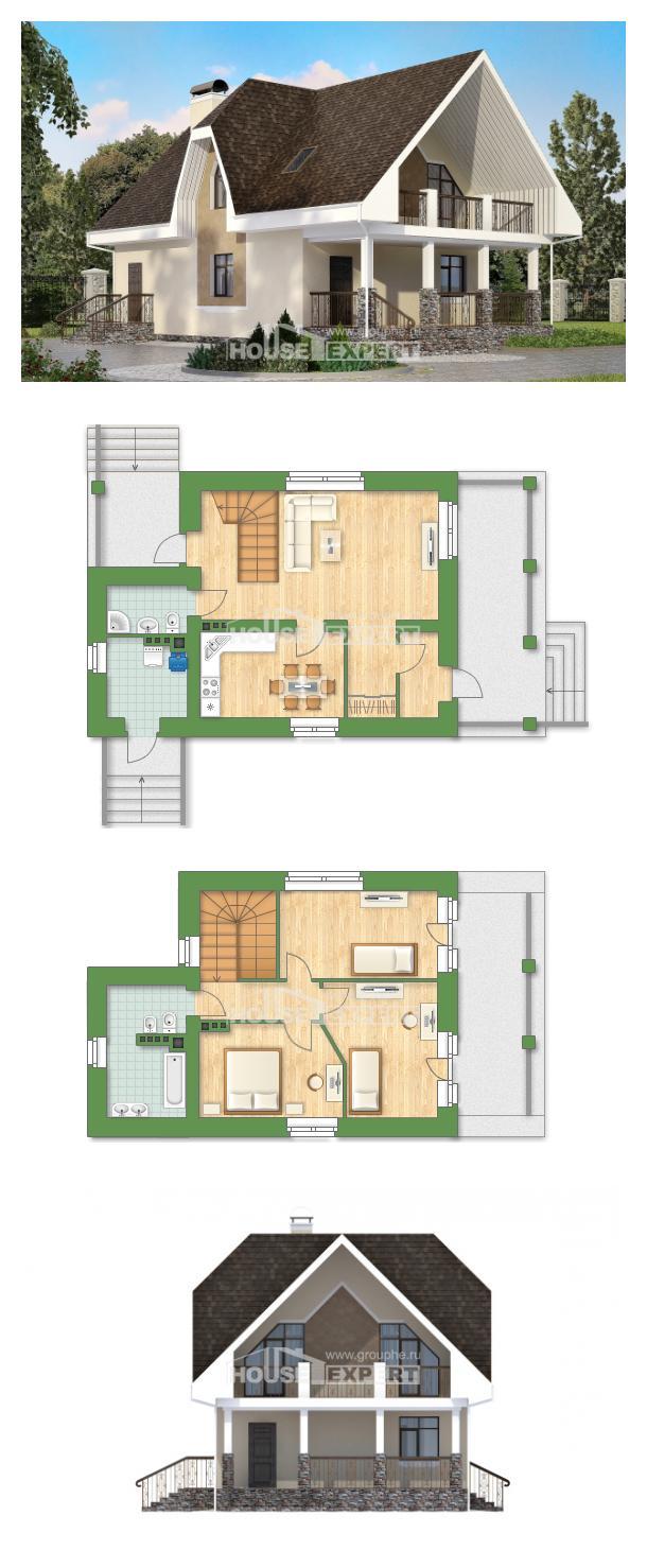 Проект дома 125-001-Л | House Expert