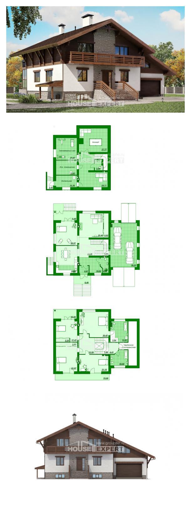 Проект дома 420-001-П | House Expert