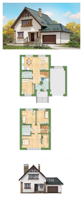 Проект дома 160-005-П | House Expert